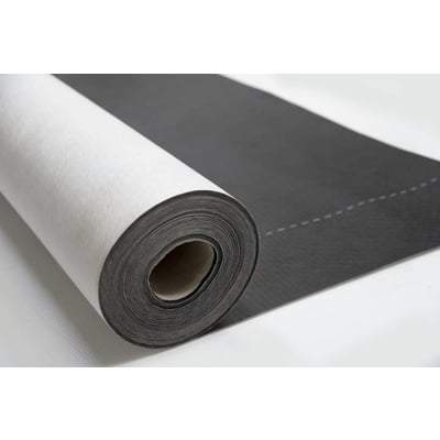 Black Roof and Wall Breather Membrane 1.5m x 50m (75m2 Roll) - Novia Membranes