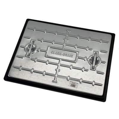 Pedestrian Steel Lid Manhole Cover & Frame - All Sizes - Clark-Drain Drainage