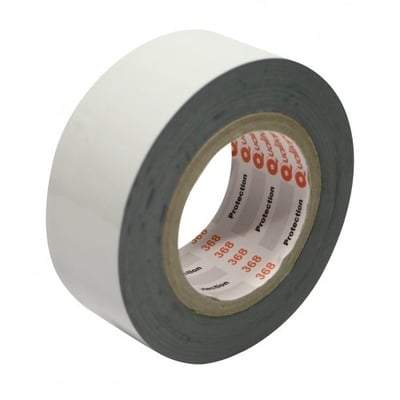 Protection Tape 80 Micron 50mm x 100m Medium Tack Black/White - Qualitape Foam Tape