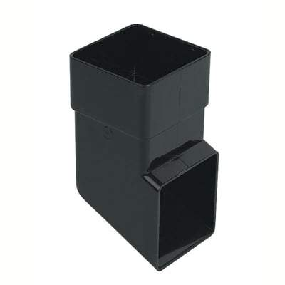 Square Downpipe Shoe 65mm - All Colours - Floplast Drainage