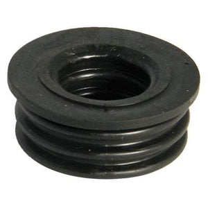 Ring Seal Soil Rubber Boss Adaptor Black - All Sizes - Floplast Drainage
