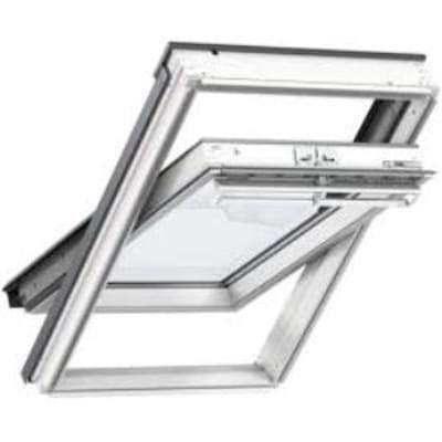 Image of VELUX GGL CK02 2070 White Painted Laminated Centre Pivot Roof Window 55x78cm