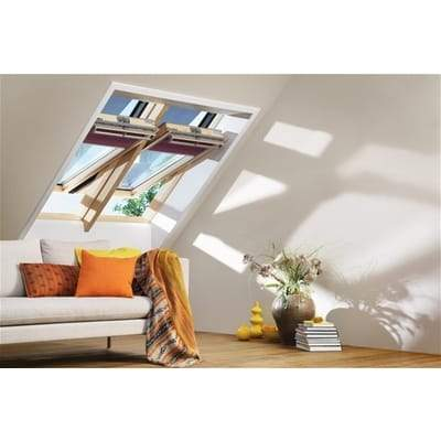 VELUX GGL PK10 3070 Pine Laminated Centre Pivot Roof Window 94x160cm - Velux Roofing