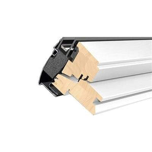 VELUX GGL MK06 2070 White Painted Laminated Centre Pivot Roof Window 78x118cm
