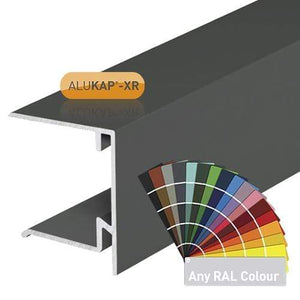 Alukap-XR 35mm End Stop Bar - Full Range - Clear Amber Roofing