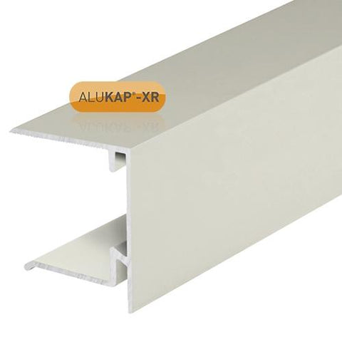 Image of Alukap-XR 35mm End Stop Bar - Full Range - Clear Amber Roofing
