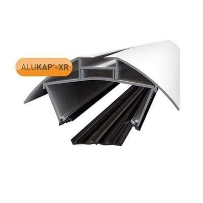 ALUKAP-XR 55mm Ridge Bar with Rafter Gasket - Clear Amber Roofing
