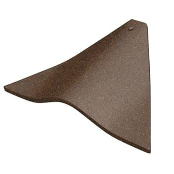 Image of Marley Concrete Plain Bonnet Hip Tiles - All Colours - Marley Roofing