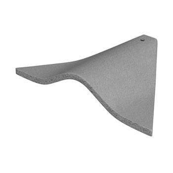 Marley Concrete Plain Bonnet Hip Tiles - All Colours