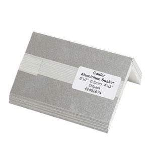 Aluminium Soakers 9'' x 6'' - 0.5mm - 4'' x 2'' - (25PK) - Calder Roofing
