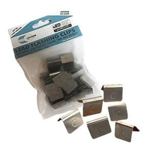 Lead Flashing Clips - Pack of 50 - Calder Roofing