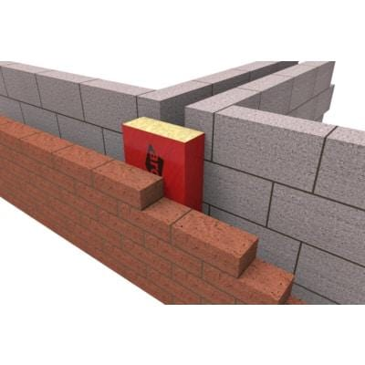 Party Wall Cavity Stop Socks Red - All Sizes - ARC Insulation