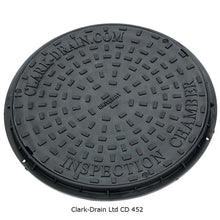 Load image into Gallery viewer, Inspection Chamber  Manhole Cover & Frame 450mm (3.5 Tonne)