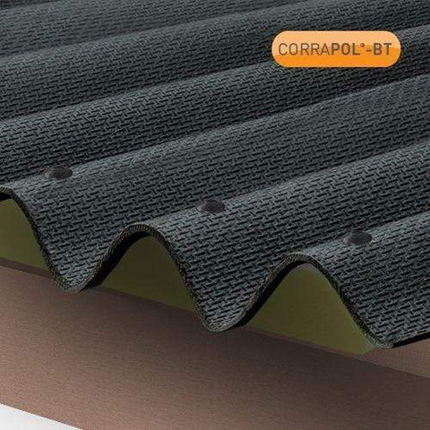 Image of Corrapol-BT Corrugated Bitumen Fixings 100 Pack - All Colors - Clear Amber Roofing