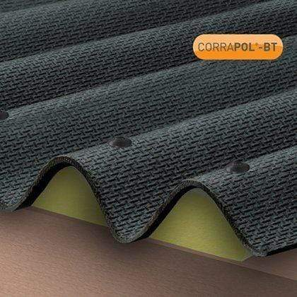 Corrapol-BT Corrugated Bitumen Foam Eaves Filler Pack of 4 - Clear Amber Roofing