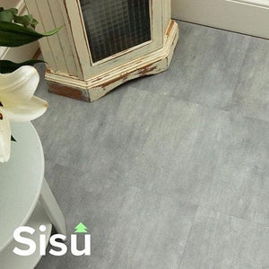SISU Click Vinyl Flooring Tiles - 305mm x 610mm (10 Pack) - All Colors - EnviroBuild