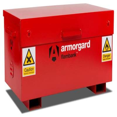 Image of Armorgard Flambank Site Box FB21 & FB2 - Armorgard Tools and Workwear