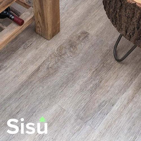 Image of SISU Dryback Vinyl Flooring - Grey Ash