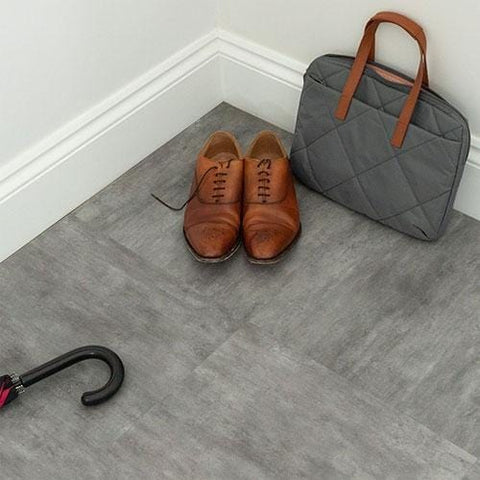 Image of SISU Dryback Vinyl Flooring - Grey Limestone
