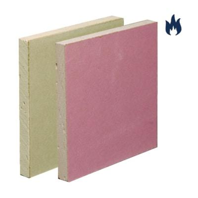 Fire Rated Wallboard TE 1200mm x 2400mm - All Thicknesses - British Gypsum FireLine Slabs