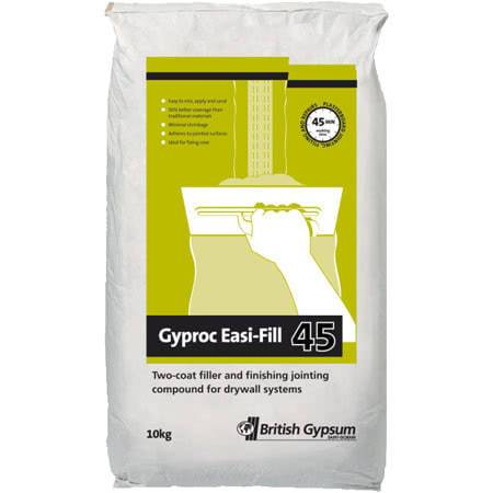 Gyproc Easy Fill 10kg bag - British Gypsum Building Materials