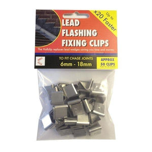 Lead Flashing Hall Clip (50) - Easy Trim Roofing