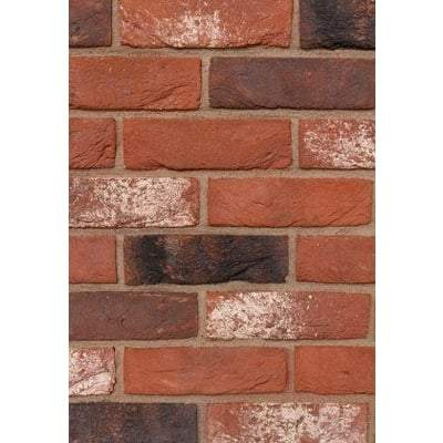 Hoskins Maltings Antique Red Facing Brick 65mm x 215mm x 102mm (Pack of 580) - Hoskins Building Materials
