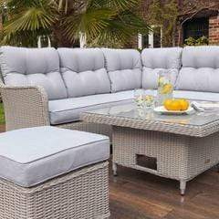 Image of Kingsley 7 Seat Corner Sofa Set - EnviroBuild Outdoor & Garden