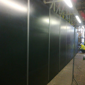 Top Hat Hoarding Board Fixing - EnviroBuild Outdoor &