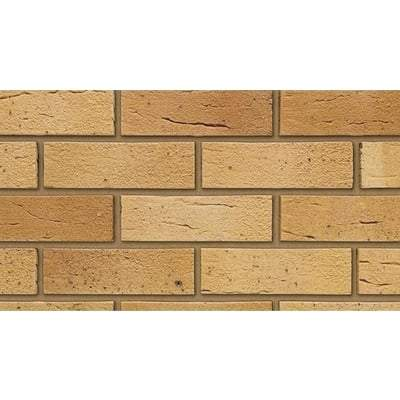 New Loxwood Yellow Multi Facing Brick 65mm x 215mm x 102mm (Pack of 500) - Ibstock Building Materials