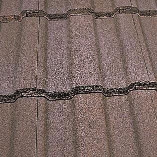 Marley Ludlow Major Concrete Roof Tile in Antique Brown