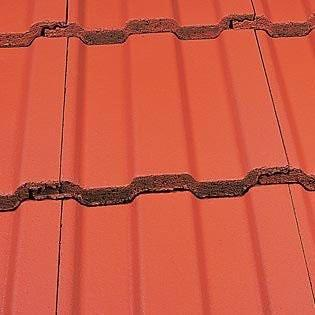 Marley Ludlow Major Concrete Roof Tile in Mosborough Red