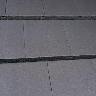 Image of Marley Modern Concrete Roof Tile in Smooth Grey