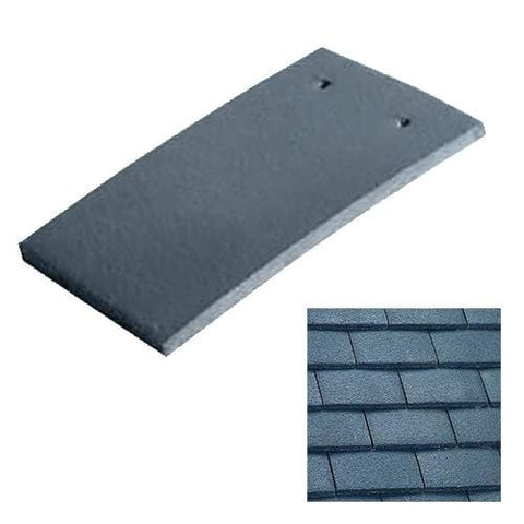 Marley Concrete Plain Roof Tile - Anthracite