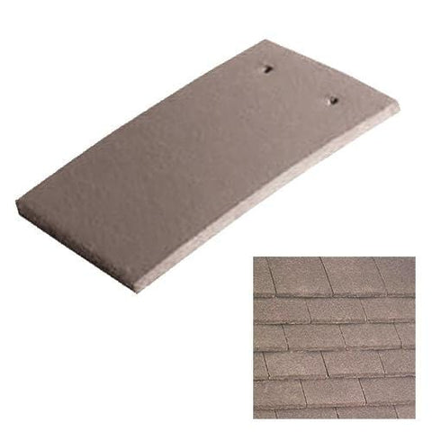 Image of Marley Concrete Plain Roof Tile Antique Brown