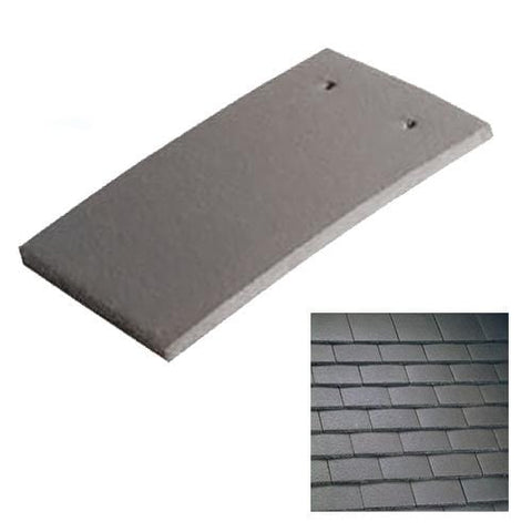 Marley Concrete Plain Roof Tile Smooth Brown