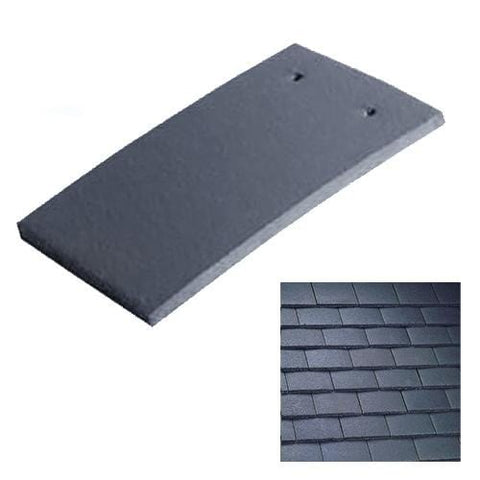 Image of Marley Concrete Plain Roof Tile Smooth Grey
