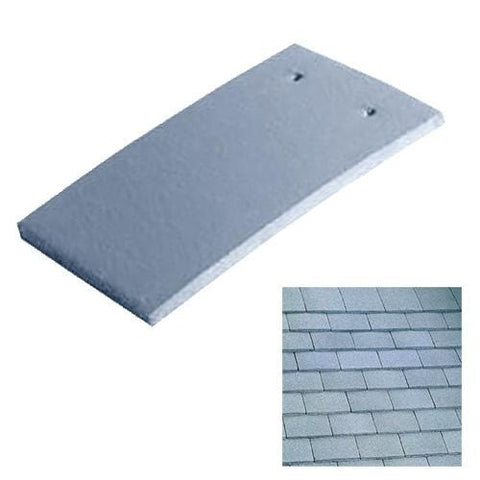 Image of Marley Concrete Plain Roof Tile Greystone