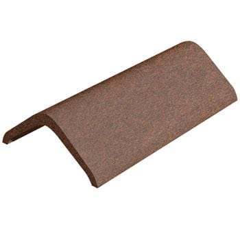 Image of Marley Eternit Concrete 457mm Modern Ridge Tile Dark Red