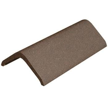 Image of Marley Eternit Concrete 457mm Modern Ridge Tile Natural Red