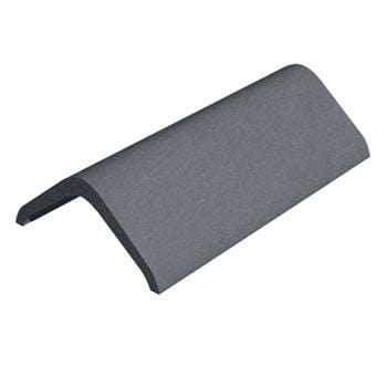 Image of Marley Eternit Concrete 457mm Modern Ridge Tile Smooth Grey