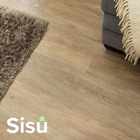 SISU Dryback Vinyl Flooring - Natural Oak