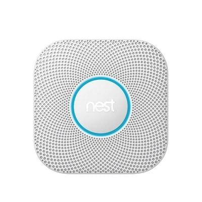 Image of Nest Protect 2nd Generation Smoke And Carbon Monoxide Alarm - Wired - Google Alarm
