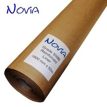 Load image into Gallery viewer, 509B Reinforced Kraft Union Liner 1.8m x 50m (90m2 Roll) - Novia Membranes