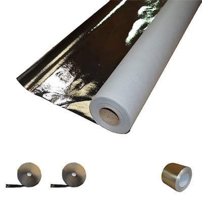 Image of Air Leakage & Vapour Control Layer 1.5m x 50m (75m2 Roll) - Novia Building Materials