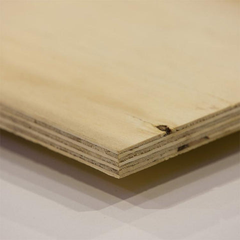 Elliotis Pine Sheathing Plywood 2440mm x 1220mm x 9mm