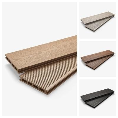 Hyperion Pioneer Decking Range - FREE Sample Bundle - EnviroBuild Timber