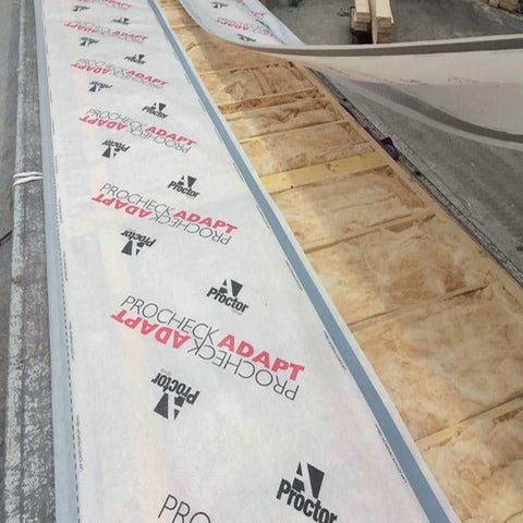 Image of Procheck Adapt Vapour Control Layer - 1.5m x 50m - Proctor Building Materials