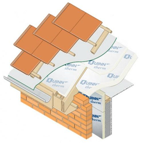 Image of Quinntherm 130mm 2.4m x 1.2m - Quinntherm Insulation