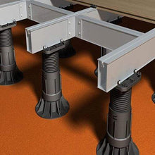 Load image into Gallery viewer, RDA-C Adjustable Self-Leveling Decking Pedestal for Aluminium joist - All Sizes